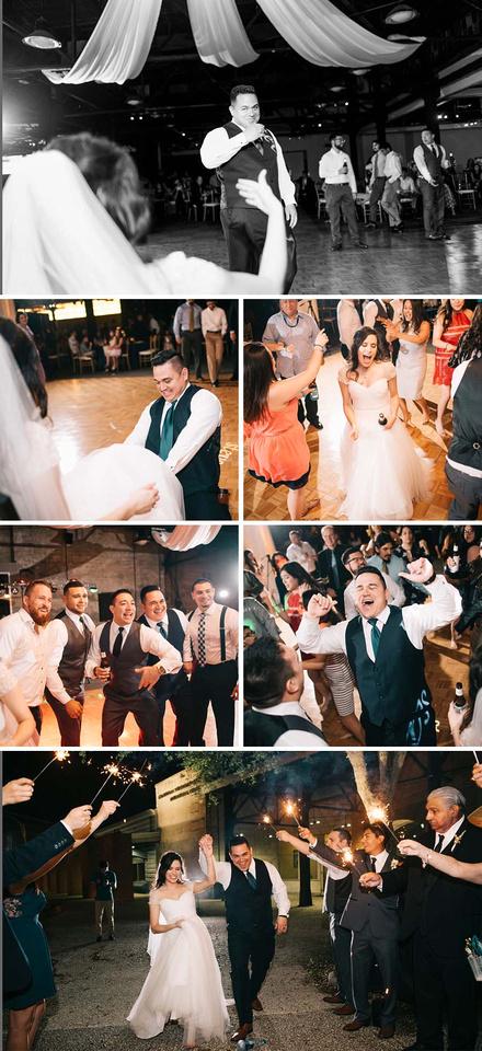 Steven and Saras Wedding at the Solomon Ortiz Center